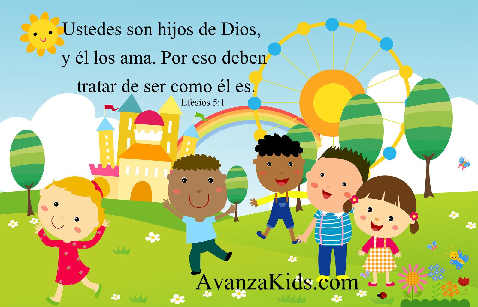 Imagenes cristianas para niños con versiculos | Avanza Por Más ...