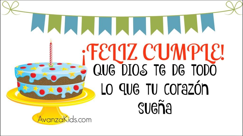 cumpleaños cristiano niños