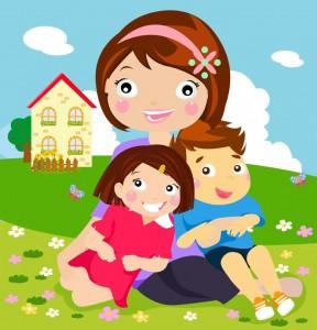 reflexiones  cristianas niños con consejos mama