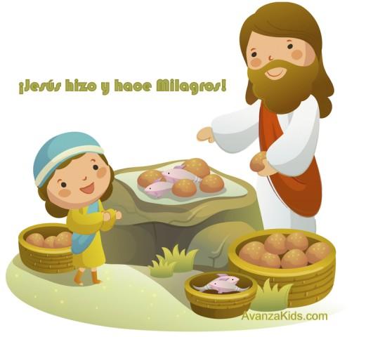 imagenes cristianas niños milagros jesus