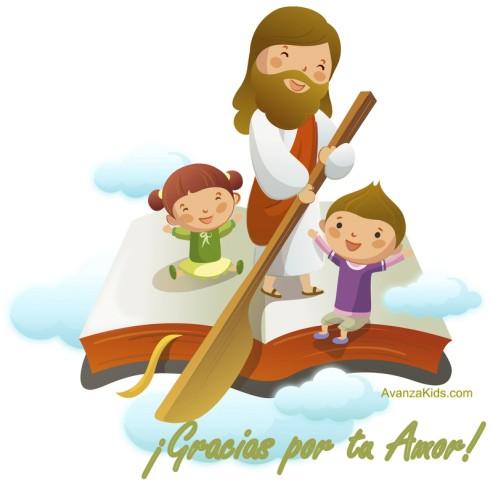 imagenes cristiana de jesus niños