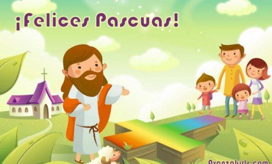 Pascuas: JESÚS le cuenta a sus DISCÍPULOS lo que va a pasar