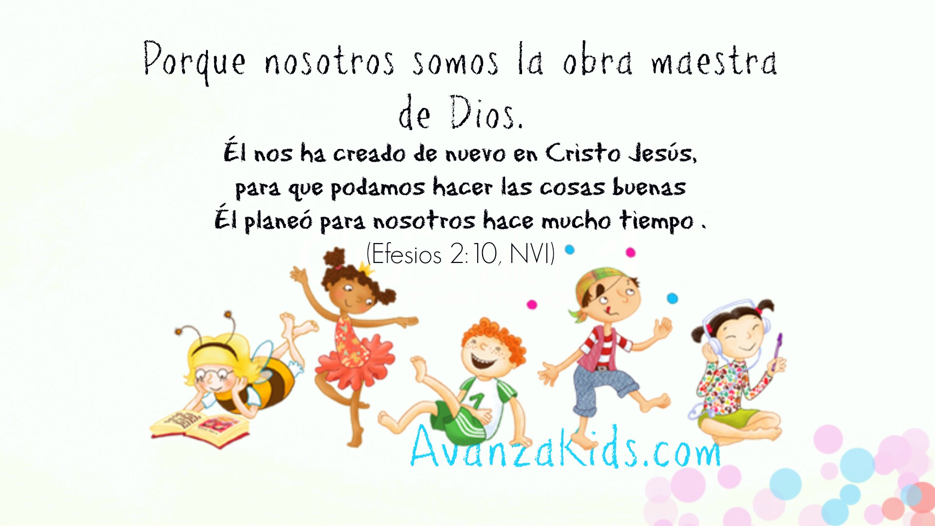 Imagenes Cristianas Para Niños Con Mensajes Avanza Kids